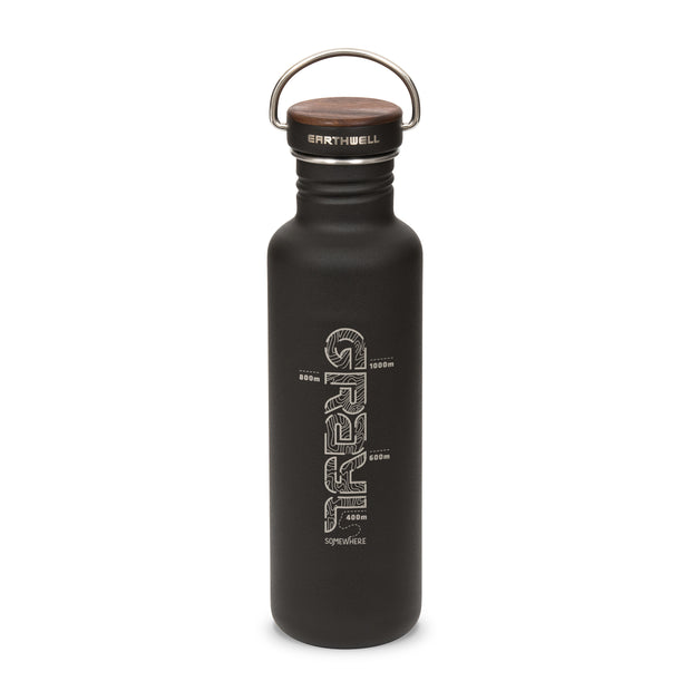 EARTHWELL® x GRAYL Woodie™ Bottle
