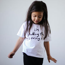 'I'm Pulling the Strings' Oversized Tee 1-4Y