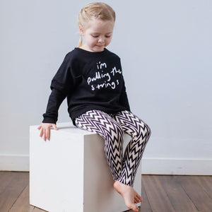 'I'm Pulling the Strings' Sweater 1-4Y