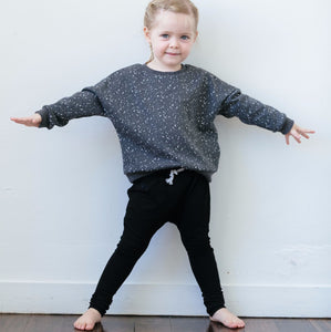 Plain Speckle Sweater  1-4Y