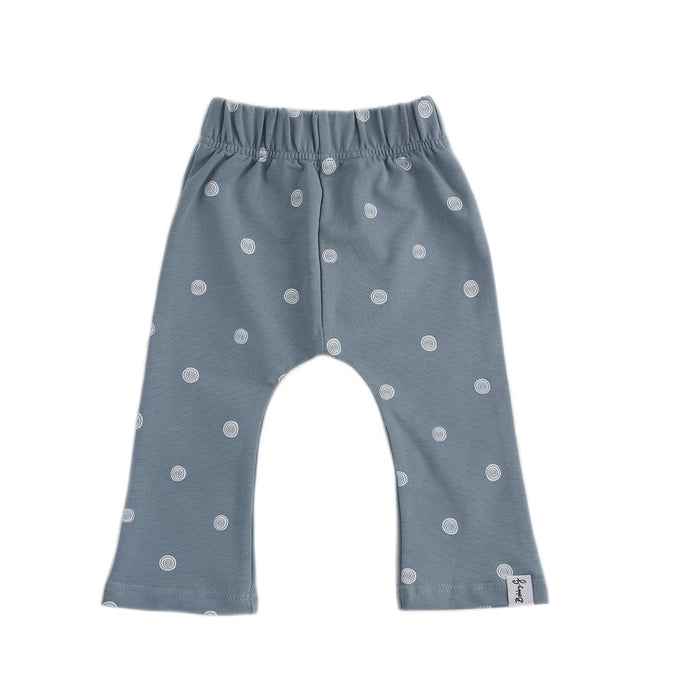 Flare Pants - Dazzling Dusty Blue