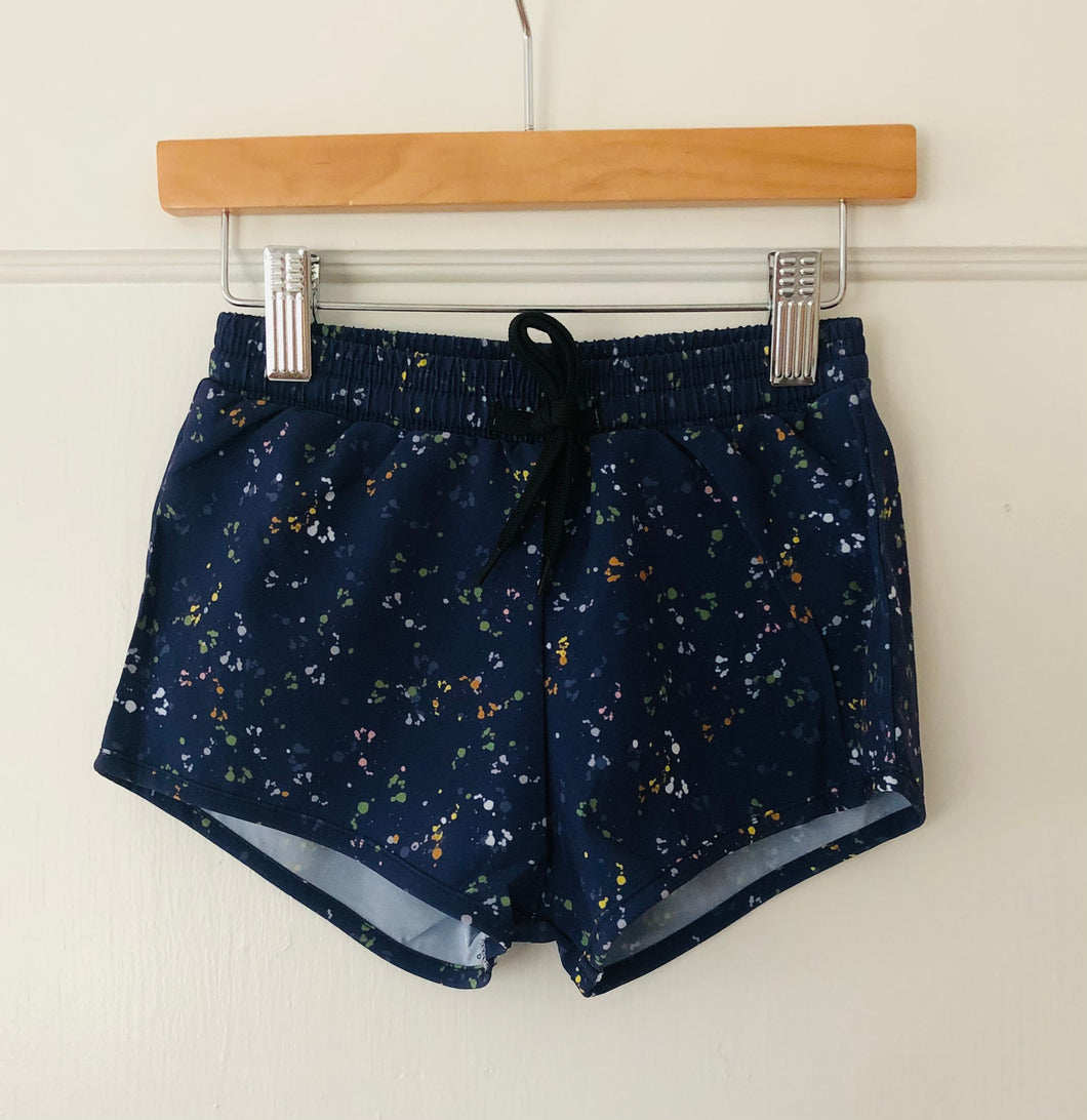 Swim Shorts - Navy Blue Speckles