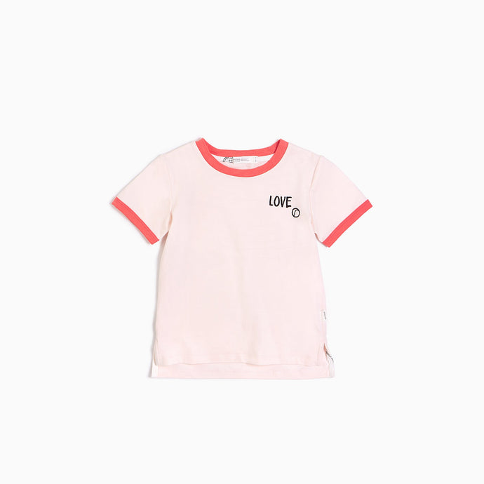 Blush and Coral Love Tee