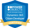 Dynamics 365 Citizen Developer Certification