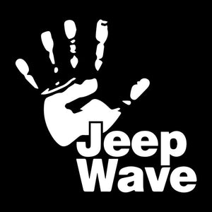 Jeep Wave Decal