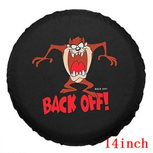 BACK OFF TIRE COVER