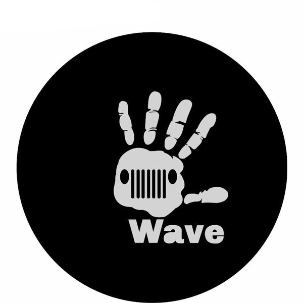 WAVE TIRE COVER