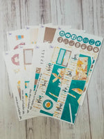 September mystery kit now available separately PSL Pumpkin Spice Latte 8 page sticker kit for the Erin Condren vertical life planner