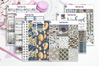 Cape Cod in the Fall sticker kit to fit the Erin Condren Vertical Life Planner