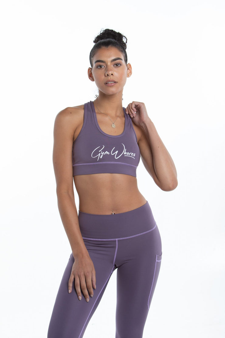 Deep Pockets Sports bra | Lavender
