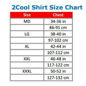 CoolShirt 2Cool Short Sleeve Cooling Shirt