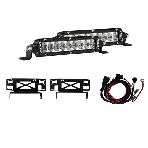 Rigid Industries 17-18 Ford Super Duty Stealth Grille Light Kit 41618