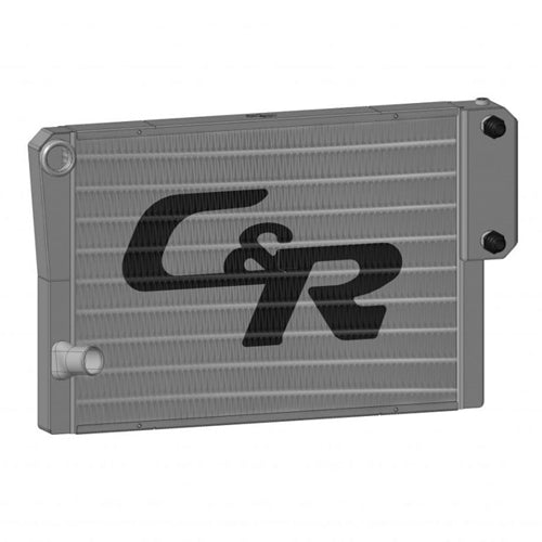 """C&R Radiator Universal Heat Exchanger Closed 30"""" x 19″ 1-3/4"""" High Outlet (Ford)"""