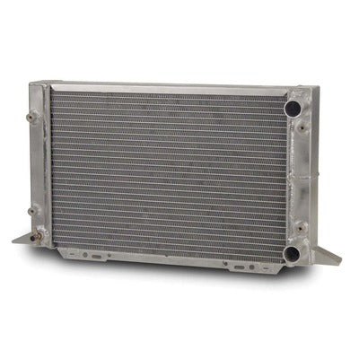 AFCO Racing Aluminum Radiator Sirocco Right Hand No Filler Neck Double Pass 1-1/4 Inlet 1-1/4 Outlet 80107N