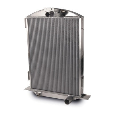 AFCO Racing Aluminum Satin Radiator 1932 Ford Car Chevy 80145-S-NA-N