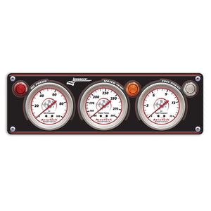 3-Gauge Sportsman Panel with Accutech SMi Tach 44443