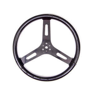 "ButlerBuilt 15"" Aluminum Steering Wheel - Black"