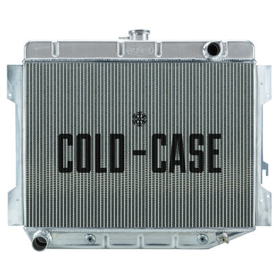 Cold Case Radiators 70-74 E Body Challenger Radiator AT 17x26in