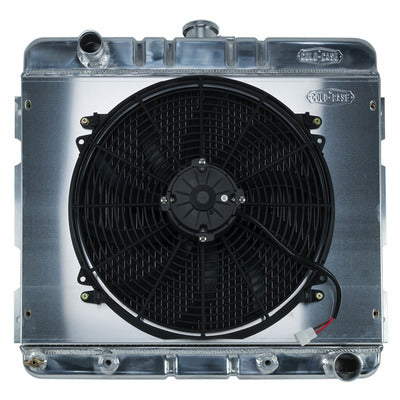 Cold Case Radiators 70-72 A/B Body SB Radiator and 16in Fan Kit AT
