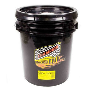 Champion Racing 0W-20 Full Synthetic Racing Oil - 5 Gallon