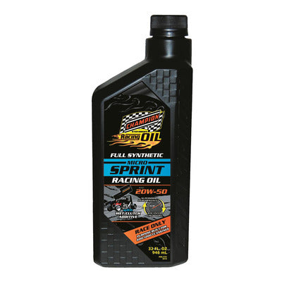 Champion Micro Sprint 20W50 Full Synthetic Racing Oil