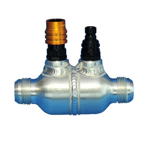 C&R Fabricated Check Valve AN20 Male Outlets