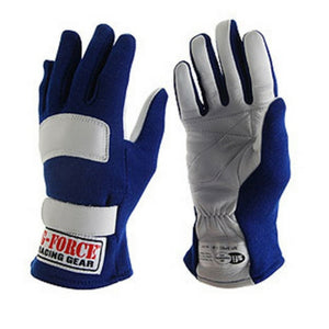 G-Force G5 Racing Gloves - Blue