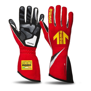 Momo Corsa R Driving Gloves - Red