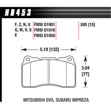 Hawk Brake Pads HB453N585 Performance Street HP Plus