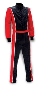 Impact Racer Suit - Black/Red