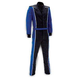 Impact Racer Suit - Black/Blue
