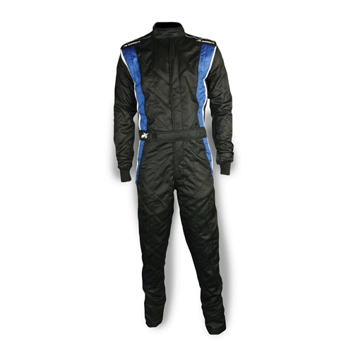 Impact Racing Phenom Race Suit Black/Blue