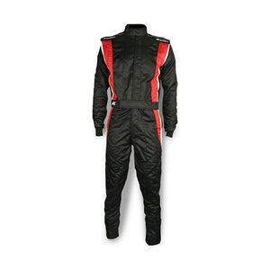Impact Racing Phenom Race Suit Black/Red