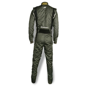Impact Racing Phenom Race Suit Gray/Black Back