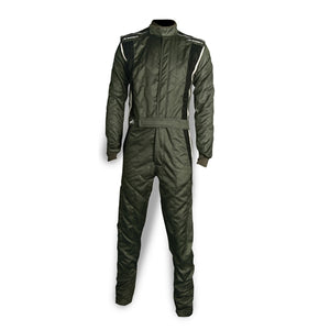 Impact Racing Phenom Race Suit Gray/Black
