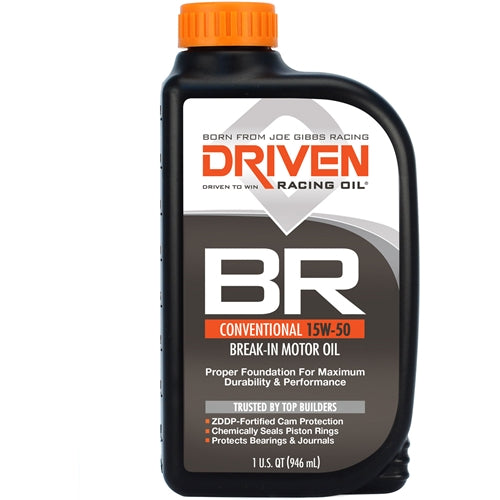 Driven BR 15W-50 Break-In Oil