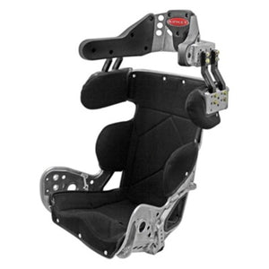 Kirkey 79 Series Deluxe Sprint Car/Dirt Modified Containment Seat with Black Cover