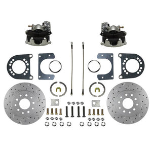 LEED Brakes Rear Disc Brake Conversion Kit RC0001X - MaxGrip XDS - Ford