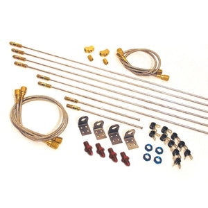 Longacre Complete Brake Line Kit - #3 AN - 52-45215
