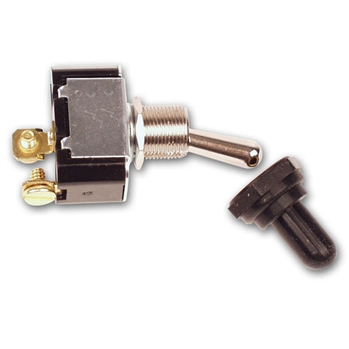 Longacre 2-Terminal HD Ignition Switch with Weatherproof Cover 45420
