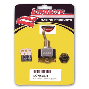 Longacre 3-Terminal HD Ignition Switch with Weatherproof Cover 45430
