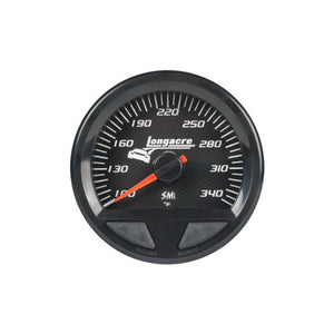 Longacre Waterproof SMI Oil Temperature Gauge 100-340f