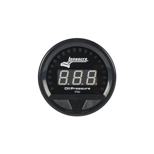 Longacre Waterproof LED Oil Pressure Gauge