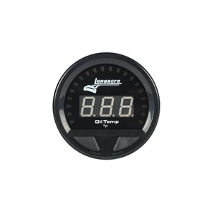 Longacre Waterproof LED Oil Temperature Gauge 100-340f