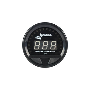 Longacre Waterproof LED Water Pressure Gauge 0-60psi
