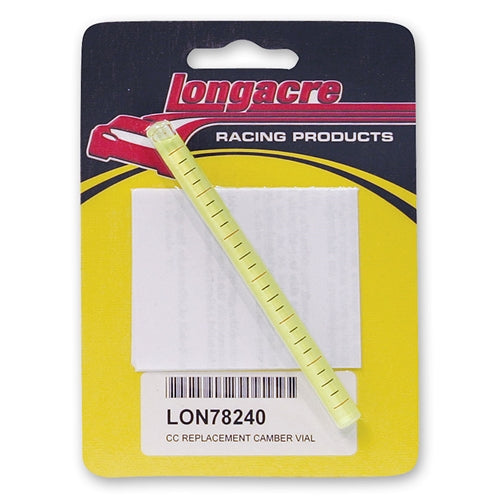 Longacre Replacement Camber Vial - 0-6° with Lines 78240