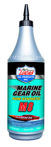 Lucas Marine Gear Oil Synthetic SAE 75W-90 M8 10652