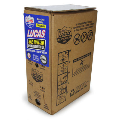 Lucas Oil 10W30 Motor Oil - 6 Gallon Bag in Box