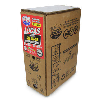 Lucas Oil 0W20 Synthetic Oil - 6 Gallon Bag in Box