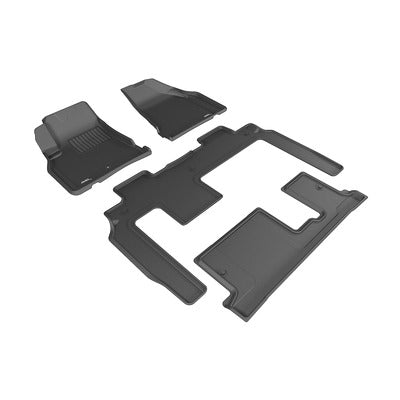Kagu All Weather Floor Liner - Chevy Traverse 2009+ - 1st, 2nd & 3rd Row